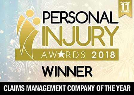 First4Lawyers won Claims Management company of the year at the 2018 PI Awards